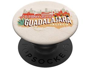 Id Rather Be In Guadalajara Jalisco - Mexico Souvenir Popsockets Popgrip: Swappable Grip For Phones & Tablets