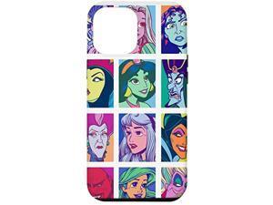 Iphone 12 Pro Max Disney Princesses And Villains Pop Art Print Case