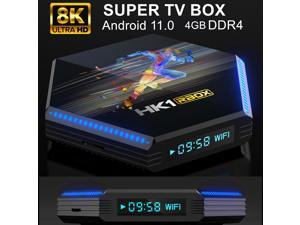 Android 11.0 8K Android TV BOX RK3566 Quad-Core 64bit Cortex-A55 CPU Streaming Media Player Smart TV BOX