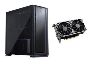Phanteks Enthoo 719 High Performance Full Tower Case + EVGA GeForce GTX 1660 SC ULTRA GAMING, 06G-P4-1067-KR, 6GB GDDR5 Video Card