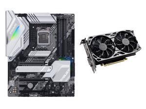 ASUS PRIME Z490-A LGA 1200 (Intel 10th Gen) Intel Z490 SATA 6Gb/s ATX Intel Motherboard, EVGA GeForce GTX 1660 Ti SC ULTRA GAMING 6GB GDDR6 Video Card
