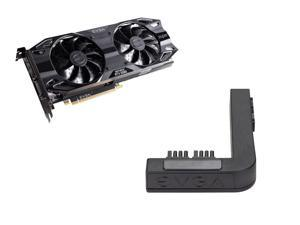 EVGA GeForce RTX 2060 SUPER SC ULTRA GAMING, 08G-P4-3067-KR, 8GB GDDR6, Dual HDB Fans, Metal Backplate + EVGA PowerLink Support ALL NVIDIA Founders Edition & ALL EVGA GeForce RTX