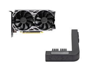 EVGA GeForce GTX 1650 SUPER SC Ultra Black GAMING Video Card, 04G-P4-1355-KR, 4GB GDDR6 + EVGA PowerLink Support ALL NVIDIA Founders Edition & ALL EVGA GeForce RTX