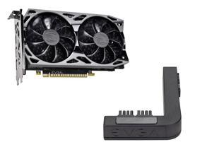EVGA GeForce GTX 1650 SC ULTRA GAMING GDDR6, 04G-P4-1257-KR, 4GB GDDR6, Dual Fan, Metal Backplate + EVGA PowerLink Support ALL NVIDIA Founders Edition & ALL EVGA GeForce RTX