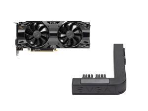 EVGA GeForce RTX 2060 SC Ultra GAMING, 06G-P4-2067-KR, 6GB GDDR6, Dual HDB Fans + EVGA PowerLink Support ALL NVIDIA Founders Edition & ALL EVGA GeForce RTX