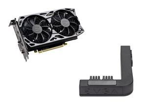 EVGA GeForce GTX 1660 Ti SC ULTRA GAMING, 06G-P4-1667-KR, 6GB GDDR6, Dual Fan, Metal Backplate + EVGA PowerLink Support ALL NVIDIA Founders Edition & ALL EVGA GeForce RTX