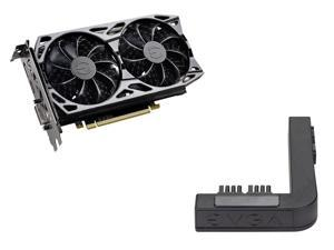 EVGA GeForce GTX 1660 SC ULTRA GAMING, 06G-P4-1067-KR, 6GB GDDR5, Dual Fan, Metal Backplate + EVGA PowerLink Support ALL NVIDIA Founders Edition & ALL EVGA GeForce RTX