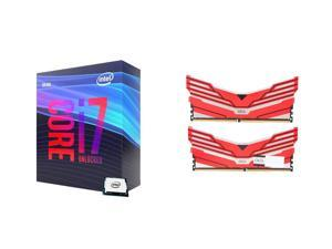 Intel Core i7-9700K Desktop Processor Intel UHD Graphics 630, OLOy WarHawk RGB 16GB (2 x 8GB) 288-Pin DDR4 SDRAM DDR4 3000 (PC4 24000) Desktop Memory