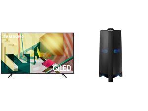 """SAMSUNG QN55Q70TAFXZA 55"""" TV AND MX-T70/ZA Tower Speaker"""