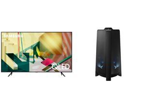 "SAMSUNG QN55Q70TAFXZA 55"" TV AND MX-T50/ZA Tower Speaker"