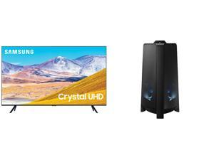 "SAMSUNG UN55TU8000FXZA 55"" TV AND MX-T50/ZA Tower Speaker"