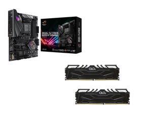 ASUS ROG STRIX B450-F GAMING AMD Motherboard, OLOy 16GB (2 x 8GB) DDR4 3200 (PC4 25600) Desktop Memory