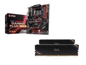 MSI B450 GAMING PLUS MAX AMD Motherboard, OLOy 16GB (2 x 8GB) DDR4 3000 (PC4 24000) Desktop Memory
