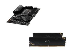 MSI MPG Z490 GAMING EDGE WIFI Intel Motherboard, OLOy 16GB (2 x 8GB) DDR4 3000 (PC4 24000) Desktop Memory