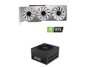 GIGABYTE GP-P850GM 850W ATX Power Supply + GIGABYTE GeForce RTX 3080 DirectX 12 GV-N3080VISION OC-10GD 10GB 320-Bit GDDR6X PCI Express 4.0 x16 ATX Video Card