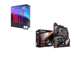Intel Core i7-9700K 3.6 GHz (4.9 GHz Turbo) 95W BX80684I79700K Desktop Processor, GIGABYTE Z390 AORUS ELITE Intel Motherboard