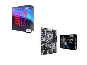 Intel Core i7-9700K 3.6 GHz (4.9 GHz Turbo) 95W BX80684I79700K Desktop Processor, ASUS Prime Z390-P Intel Motherboard