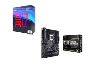 Intel Core i7-9700K 3.6 GHz (4.9 GHz Turbo) 95W BX80684I79700K Desktop Processor, ASUS TUF Z390-Pro Gaming Intel Motherboard