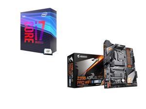 Intel Core i7-9700K 3.6 GHz (4.9 GHz Turbo) 95W BX80684I79700K Desktop Processor, GIGABYTE Z390 AORUS PRO WIFI Intel Motherboard