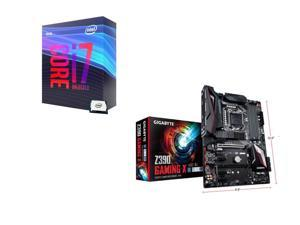 Intel Core i7-9700K 3.6 GHz (4.9 GHz Turbo) 95W BX80684I79700K Desktop Processor, GIGABYTE Z390 GAMING X Intel Motherboard
