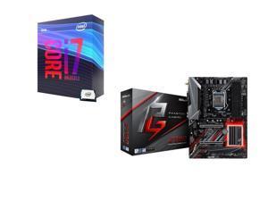 Intel Core i7-9700K 3.6 GHz (4.9 GHz Turbo) 95W BX80684I79700K Desktop Processor, ASRock Z390 PHANTOM GAMING SLI/ac Intel Motherboard