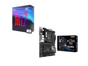 Intel Core i7-9700K 3.6 GHz (4.9 GHz Turbo) 95W BX80684I79700K Desktop Processor, ASUS WS Z390 PRO Intel Motherboard