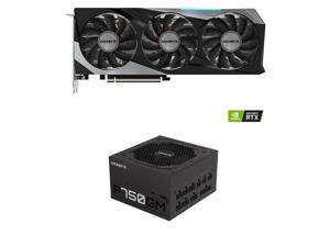 GIGABYTE GeForce RTX 3070 DirectX 12 GV-N3070GAMING OC-8GD 8GB 256-Bit GDDR6 PCI Express 4.0 x16 ATX Video Card + GIGABYTE GP-P750GM 750W ATX 12V v2.31 80 PLUS GOLD Certified Full Modular Active PFC Power Supply