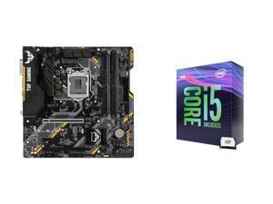ASUS TUF B365M-PLUS GAMING (WI-FI) Motherboard + Intel Core i5-9600K Processor