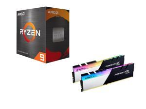 AMD Ryzen 9 5950X 3.4 GHz Desktop Processor, G.SKILL Trident Z Neo Series 32GB (2 x 16GB) DDR4 3600 (PC4 28800) Desktop Memory