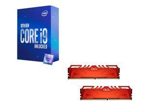 Intel Core i9-10850K 3.6 GHz, OLOy 16GB (2 x 8GB) DDR4 3600 (PC4 28800) Desktop Memory