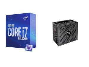 Intel Core i7-10700K Processor w/ Intel UHD Graphics 630, Thermaltake Smart BM2 750W 80+ Bronze Semi Modular Power Supply