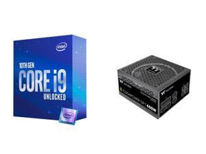 Intel Core i9-10850K Processor Intel UHD Graphics 630 - BX8070110850K, Thermaltake Toughpower GF1 650W 80+ Gold SLI/Crossfire Ready Ultra Quiet 140mm Hydraulic Bearing Smart Zero Fan Full Modular Power Supply