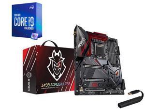 GIGABYTE Z490 AORUS ULTRA-GU (G2 Edition) LGA 1200 Intel Z490 ATX Motherboard, Intel Core i9-10850K Processor