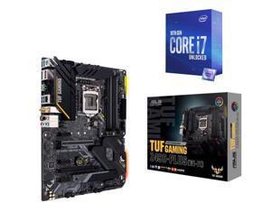 ASUS TUF GAMING Z490-PLUS (WI-FI) LGA 1200 (Intel 10th Gen) Intel Z490 (WiFi 6) SATA 6Gb/s ATX Intel Motherboard, Intel Core i7-10700K Processor