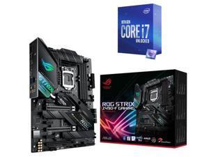 ASUS ROG STRIX Z490-F GAMING LGA 1200 (Intel 10th Gen) Intel Z490 SATA 6Gb/s ATX Intel Motherboard, Intel Core i7-10700K Processor