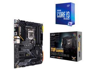 ASUS TUF GAMING Z490-PLUS (WI-FI) LGA 1200 (Intel 10th Gen) Intel Z490 (WiFi 6) SATA 6Gb/s ATX Intel Motherboard, Intel Core i9-10850K Processor