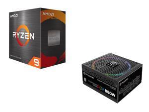 AMD Ryzen 9 5950X Processor + Thermaltake Toughpower Grand RGB 850W SLI/CrossFire Ready Continuous Power