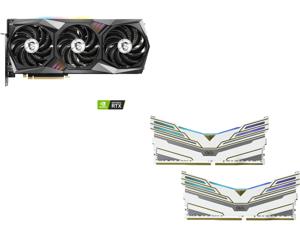 MSI GeForce RTX 3060  Ti GAMING X TRIO, OLOy WarHawk RGB 16GB (2 x 8GB) DDR4 3600 (PC4 28800) Desktop Memory