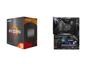 AMD Ryzen 9 5900X 12-Core 3.7 GHz Socket AM4 105W 100-100000061WOF Desktop Processor and MSI MPG B550 GAMING CARBON WIFI AM4 AMD B550 SATA 6Gb/s ATX AMD Motherboard
