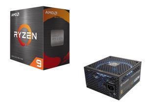 Thermaltake Toughpower Grand RGB 650W Smart Zero Fan SLI/CrossFire Ready Full Modular Power Supply + AMD Ryzen 9 5900X 12-Core 3.7 GHz Socket AM4 105W 100-100000061WOF Desktop Processor