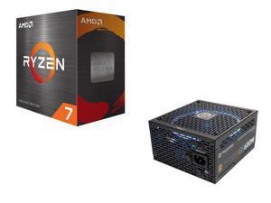 Thermaltake Toughpower Grand RGB 650W Smart Zero Fan SLI/CrossFire Ready Full Modular Power Supply + AMD Ryzen 7 5800X 8-Core 3.8 GHz Socket AM4 105W 100-100000063WOF Desktop Processor