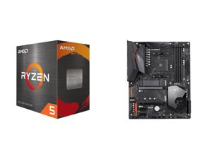 AMD Ryzen 5 5600X 6-Core 3.7 GHz Socket AM4 65W 100-100000065BOX Desktop Processor and GIGABYTE X570 AORUS ELITE AMD Ryzen 3000 PCIe 4.0 SATA 6Gb/s USB 3.2 AMD X570 ATX Motherboard