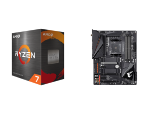 AMD Ryzen 7 5800X 8-Core 3.8 GHz Socket AM4 105W 100-100000063WOF Desktop Processor and GIGABYTE B550 AORUS PRO AC AM4 AMD B550 ATX Motherboard with Dual M.2 SATA 6Gb/s USB 3.2 Gen 2 Intel 802.11ac 2.5 GbE LAN PCIe 4.0