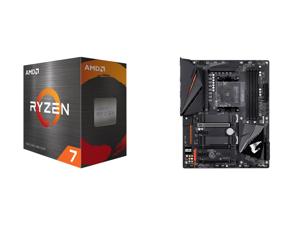 AMD Ryzen 7 5800X 8-Core 3.8 GHz Socket AM4 105W 100-100000063WOF Desktop Processor and GIGABYTE B550 AORUS PRO AM4 AMD B550 ATX Motherboard with Dual M.2 SATA 6Gb/s USB 3.2 Gen 2 2.5 GbE LAN PCIe 4.0