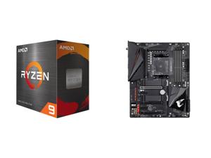 AMD Ryzen 9 5900X 12-Core 3.7 GHz Socket AM4 105W 100-100000061WOF Desktop Processor and GIGABYTE B550 AORUS PRO AC AM4 AMD B550 ATX Motherboard with Dual M.2 SATA 6Gb/s USB 3.2 Gen 2 Intel 802.11ac 2.5 GbE LAN PCIe 4.0