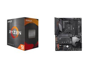 AMD Ryzen 9 5900X 12-Core 3.7 GHz Socket AM4 105W 100-100000061WOF Desktop Processor and GIGABYTE X570 AORUS ELITE AMD Ryzen 3000 PCIe 4.0 SATA 6Gb/s USB 3.2 AMD X570 ATX Motherboard