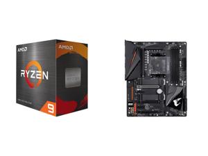 AMD Ryzen 9 5900X 12-Core 3.7 GHz Socket AM4 105W 100-100000061WOF Desktop Processor and GIGABYTE B550 AORUS PRO AM4 AMD B550 ATX Motherboard with Dual M.2 SATA 6Gb/s USB 3.2 Gen 2 2.5 GbE LAN PCIe 4.0