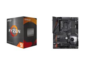 AMD Ryzen 9 5900X 12-Core 3.7 GHz Socket AM4 105W 100-100000061WOF Desktop Processor and GIGABYTE X570 AORUS PRO WIFI AMD Ryzen 3000 PCIe 4.0 SATA 6Gb/s USB 3.2 AMD X570 ATX Motherboard