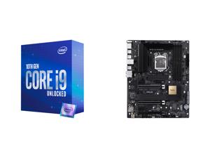 Intel Core i9-10850K Comet Lake 10-Core 3.6 GHz LGA 1200 125W Desktop Processor Intel UHD Graphics 630 - BX8070110850K and ASUS ProART Z490-CREATOR 10G LGA 1200 Intel Z490 SATA 6Gb/s ATX Intel Motherboard
