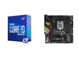 Intel Core i9-10850K Comet Lake 10-Core 3.6 GHz LGA 1200 125W Desktop Processor Intel UHD Graphics 630 - BX8070110850K and ASUS ROG STRIX Z490-G GAMING (WI-FI) LGA 1200 Intel Z490 SATA 6Gb/s Micro ATX Intel Motherboard